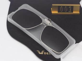 2017 Full Rim Oversized large Clip on Glasses Polarized Flip-up Sunglasses Clips for eyeglasses Driving - 2