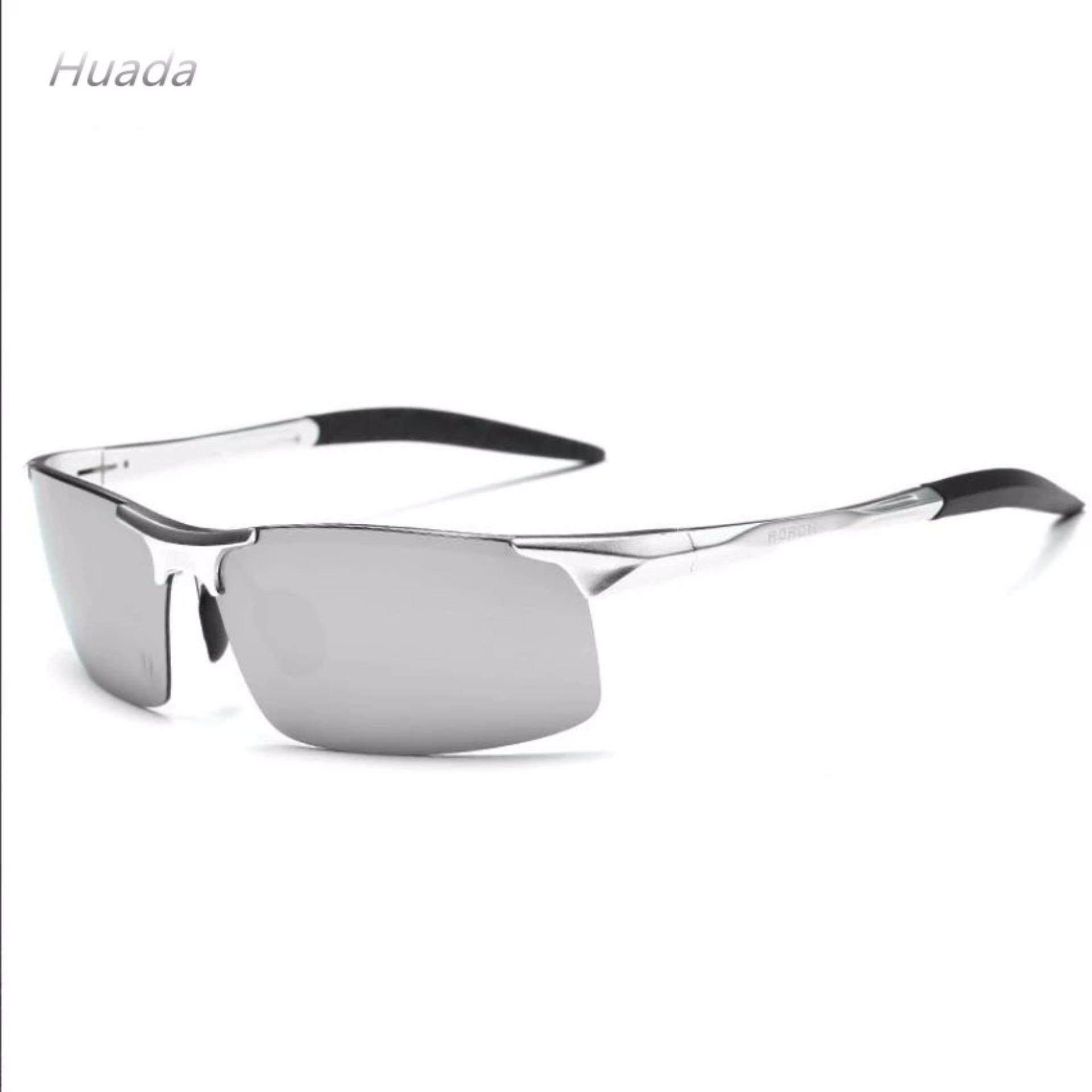 Klasik Kacamata Hitam Terpolarisasi Pria Mengemudi Coating Kacamata Cermin untuk Mens Modus Malam Kacamata Pria UV400
