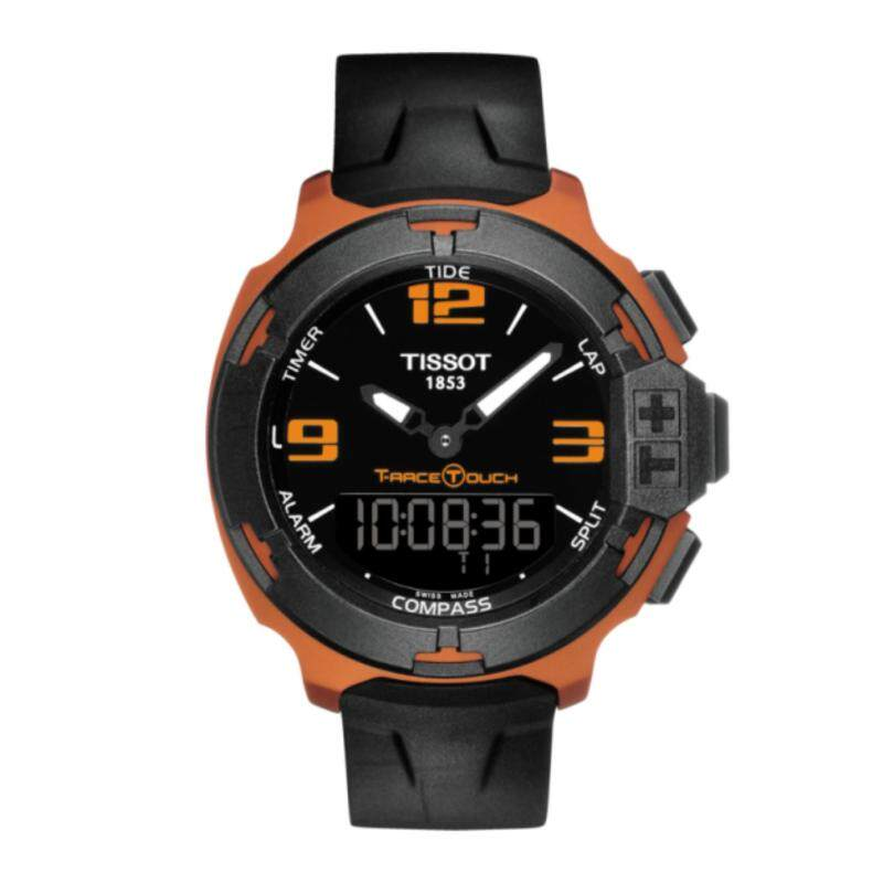 *2017 New Stock* TISSOT T-RACE TOUCH ALUMINIUM - Black Silicone Strap/Swiss Made/100% Genuine/	Tactile scratch-resistant sapphire crystal with antireflective coating/100m Water Resistance/2 years Warranty Malaysia