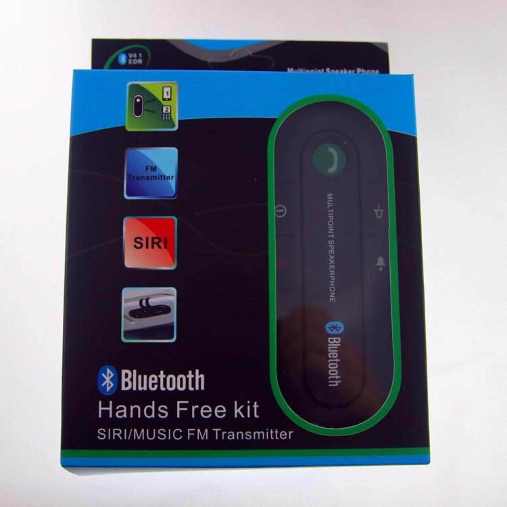 2017 Universal Speakerphone Bluetooth v4.1 Handsfree Car Kit MP3 Music