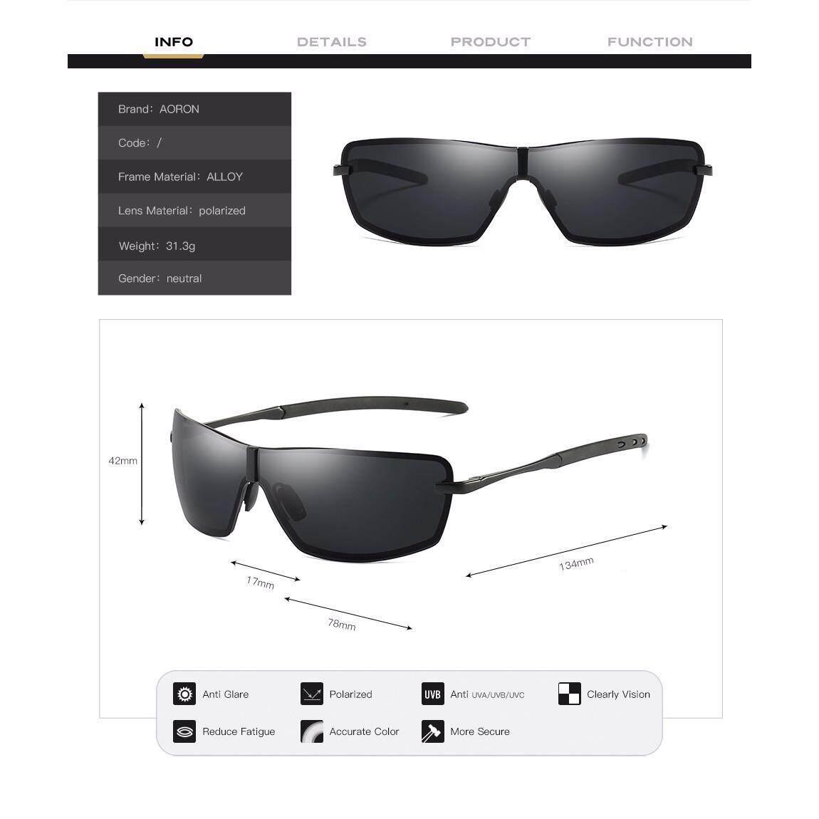 ... 2018 Baru Merek Desain Pria Retro Terpolarisasi Kacamata Penerbangan Cermin UV400 Perlindungan Matahari Gelas dengan Kotak ...