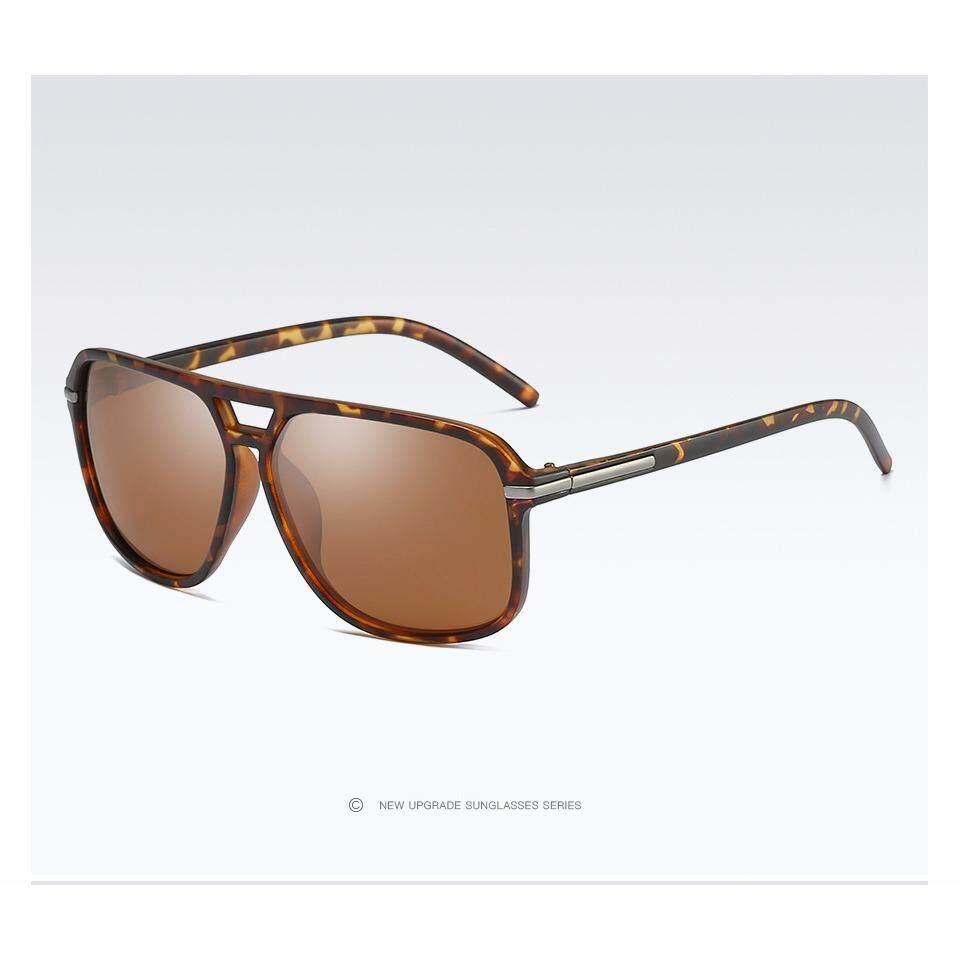 2018 Merek Baru Uniseks Pria Wanita Modis Terpolarisasi Kacamata Hitam UV Perlindungan Matahari Kacamata untuk Pria Wanita 523- internasional