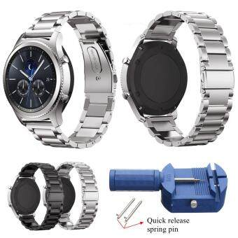 22mm Stainless Steel Wrist Watch Band Strap For Samsung Gear S3 Classic/ Frontier