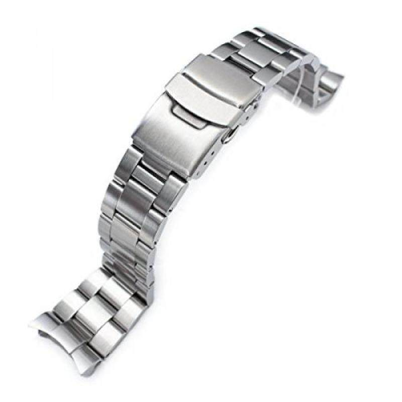 22mm Super Oyster II Watch Bracelet for Seiko Diver Skx007/009/011 Curved End Malaysia