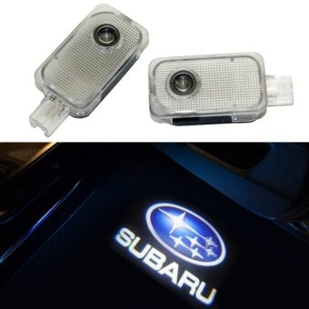 2x Newest LED Car Door Light Courtesy Laser Auto Projector logo ForSubaru OutBack Legacy Forester IMPREZA Tribeca XV direct fit