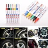 Broz 3 x Universal Motorcycle Car Waterproof Painting Pens Markers Permanent Tyre Tire Tread Rubber Marker Pen Pink