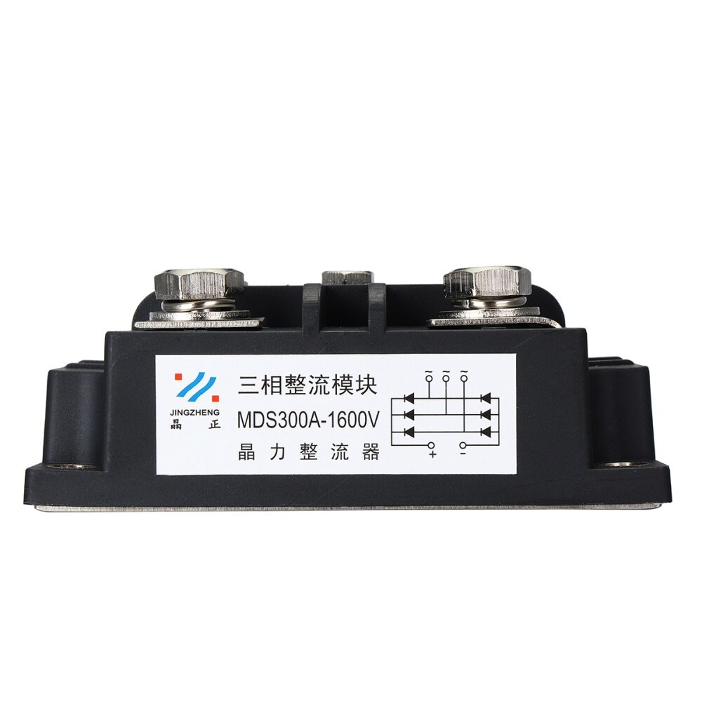 Buy Generic Mds300a 3 Phase Diode Bridge Rectifier 300a Amp 1600v Basic Circuit Other Three Type Module Size 109x68x41mm 43x26x16 Output Current Repetitive Peak Reverse Voltagevrrm 6001600v