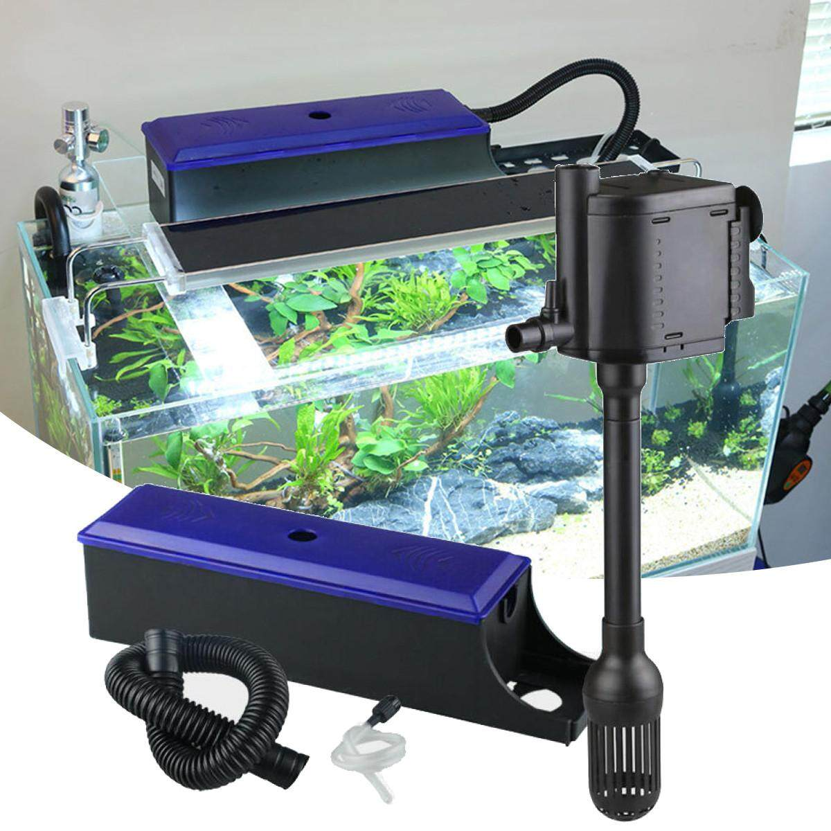 350/650L/H Aquarium External Water Filter Trickle Upper Fish Tank with Pump # JS-600 - intl