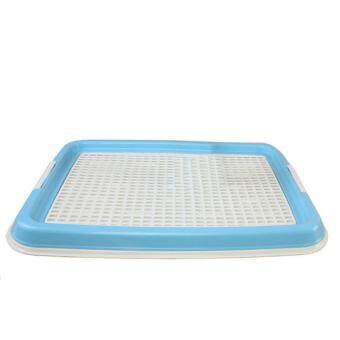 360DSC Indoor Pet Dog Toilet Training Pad Plastic Tray Mat Pet Supplies Potty Urine Pad - Blue
