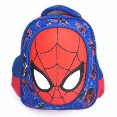 ทบทวน 3D Boy S Canvas Sch**l Bag Kids Backpacks Color Main Pic
