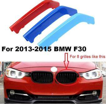 3d M Styling Car Front Grille Trim Sport Strips Cover
