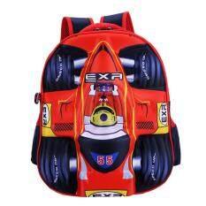 ซื้อ 3D Running Car Boy S Sch**l Bag Kids Backpacks Color Main Pic ใหม่ล่าสุด