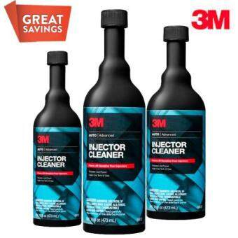 3M Advanced Fuel Injector Cleaner (USA Product) - Set of 3