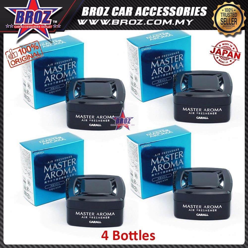 Broz 4 x Carall Master Aroma Squash Car Air Freshener Perfume 55ML
