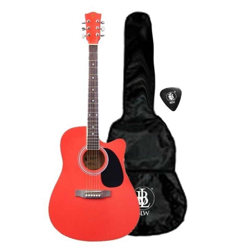 41 Inch Acoustic Guitar Package T-160RD (Red) Malaysia