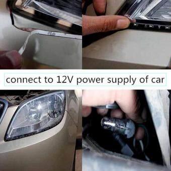 4pcs 30CM 15 LED Car Strip Light Waterproof Flexible Auto Wheel light For Motors Truck Vehicles