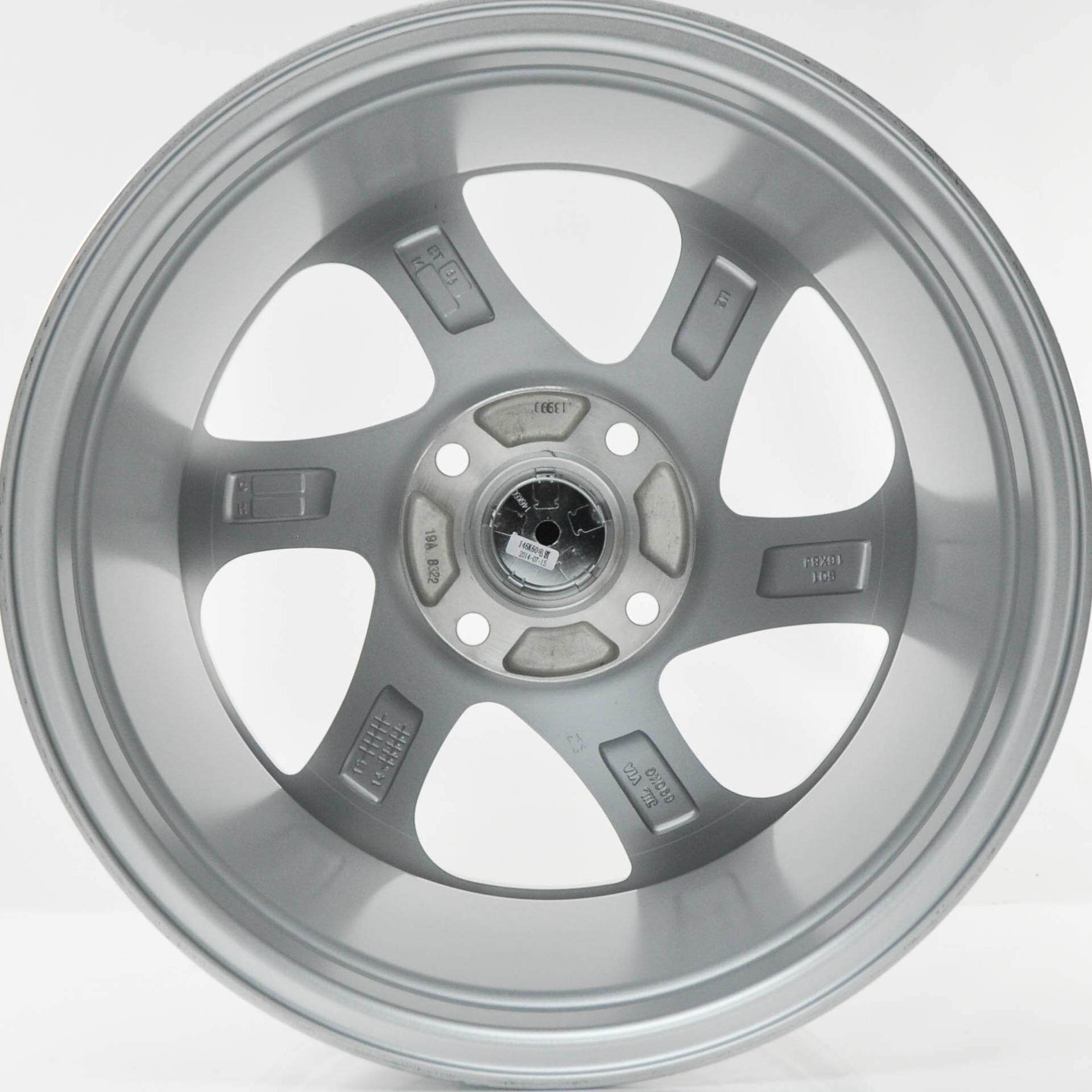 4pcs ROTIFORM 16 inch sport rim SILVER MACHINE FACE