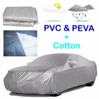 Harga 533 x 178 x 119 cm XXL Size PEVA PVC Layers Car Full Cover WaterResistant Anti-UV Dust Resistant Vehicle Protection Covering AudiA6 A7 A8 BMW 5 6 Everest Mazda 8 Benz C E GLA45 GLS S CefiroPeugeot 408 508 Volvo s60 v40 Vanette Lexus ES250