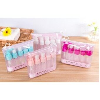 7 in 1 Travel Lotion Bottle Cosmetic Products