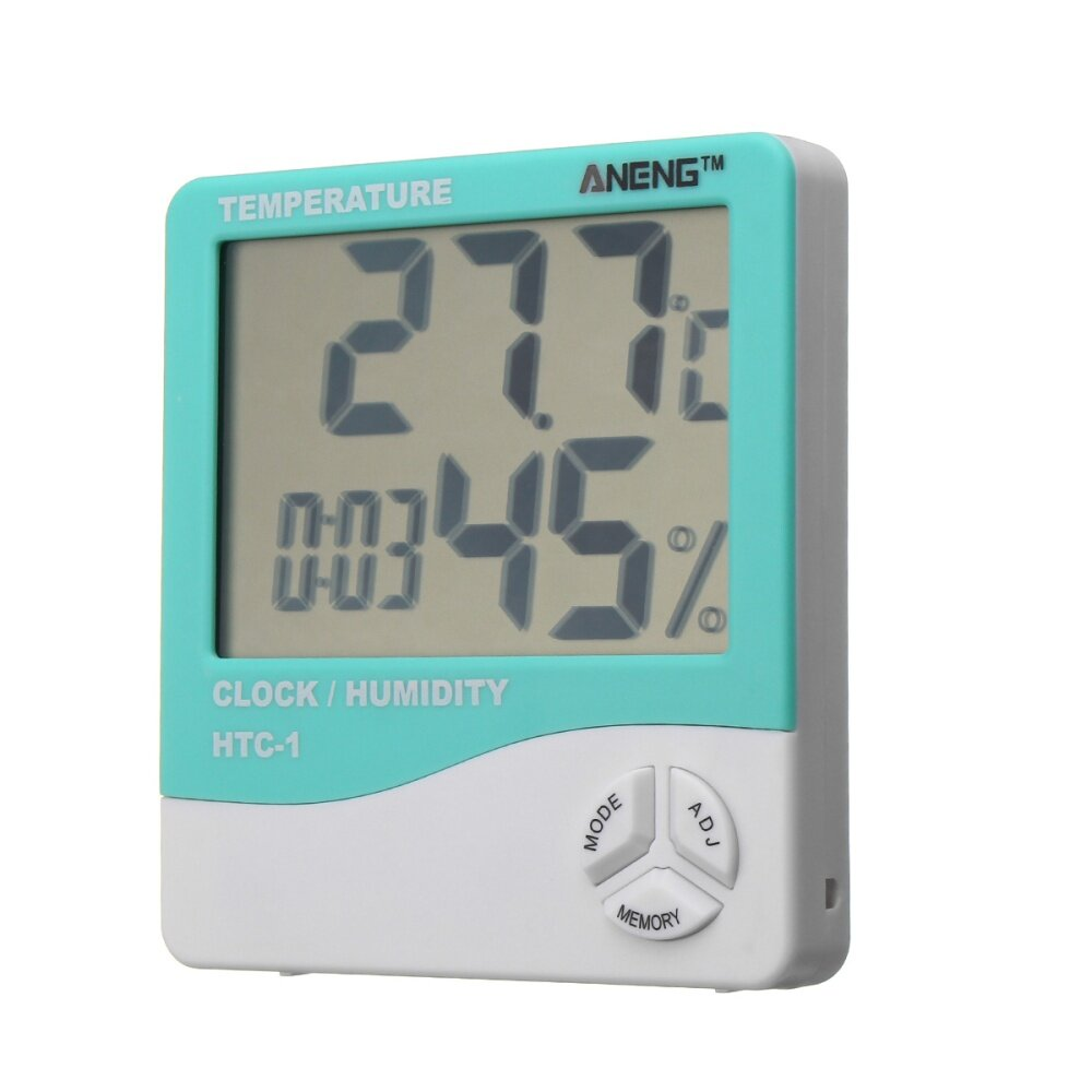 Buy Generic Lcd Digital Indoor Temperature Humidity Weather Meter Thermometer Hygrometer Htc 1 Image