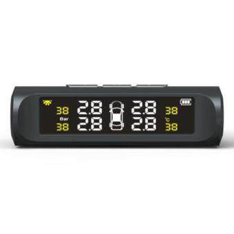 90SMART TPMS Car Detector Tire Pressure Monitoring System - Black