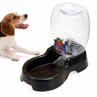 950ml Pet Dog Cat Large Automatic Waterer Drink Dispenser Food Dish Bowl Feeder
