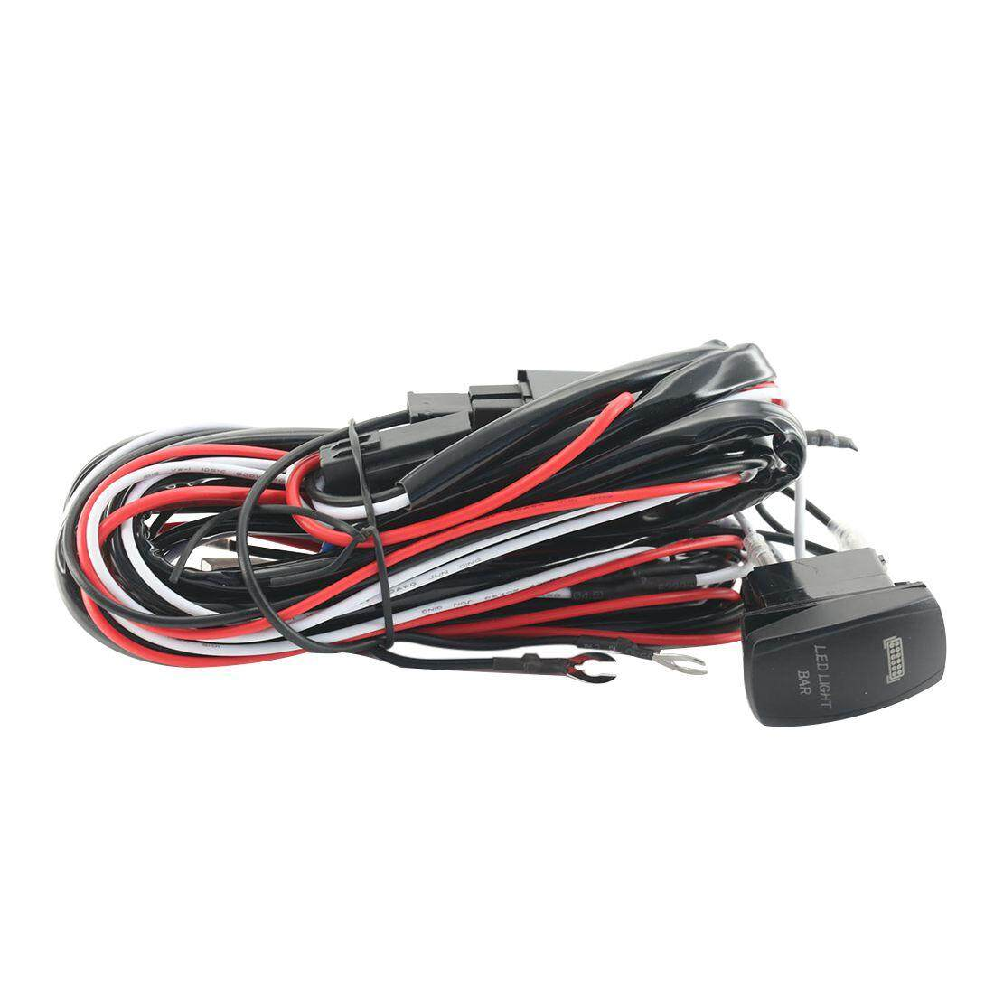 The Price Of 5pin 40a Car Relay Wiring Harness Kit With Led Light For Bars 12v 9ft Power Switch Bar Up To