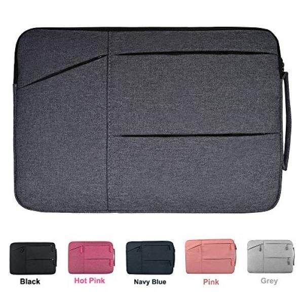 Acer Chromebook R 11 Case, CaseBuy Premium Water Repellent Laptop Sleeve for MacBook 12, Samsung Chromebook 3 11.6, HP Stream 11 and More 11-12 DELL ASUS Lenovo Notebook Carrying Bag, Space Grey - intl