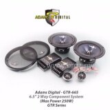 "Adams Digital GTR Series GTR 665 6.5"" 2 Way Component Speaker System"