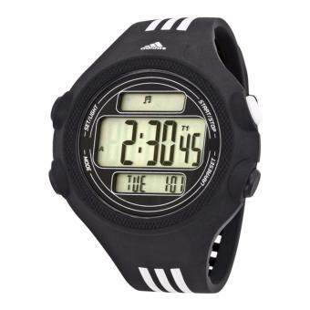 ADIDAS ADP6081 Digital Dial Black and Polyurethane Strap Men's Watch