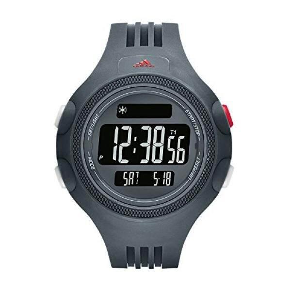 Adidas Pria Questra Kuarsa Karet dan Poliuretan Kasual Jam Tangan, Warna: Biru (Model: ADP3280)-Internasional