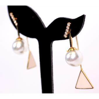 Harga AFGY FGA 222 Fashion Pearl Drop Daily Earring