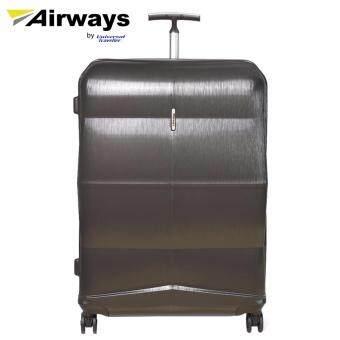 Airways 24' Double Wheels Spinner Hard Case Luggage - ATH6916 DARKGREY