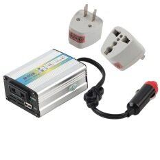 Allwin 12 V DC Ke AC 220 V Mobil Tenaga Inverter Adaptor Konverter Adaptor 200 Watt USB