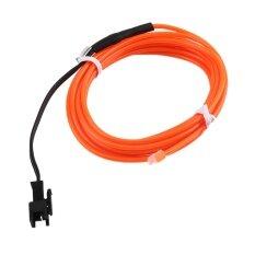 Harga Allwin Warna Warni 2 M Tali Kawat Fleksibel El Tabung Lampu Neon Dc 12 V Untuk Review Mobil Dekorasi Pesta Bar Orange Internasional New