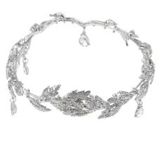 Harga Pengantin Berlian Imitasi Kristal Elegan Prom Rantai Rambut Dahi Band Topi Baja Allwin Yg Bagus