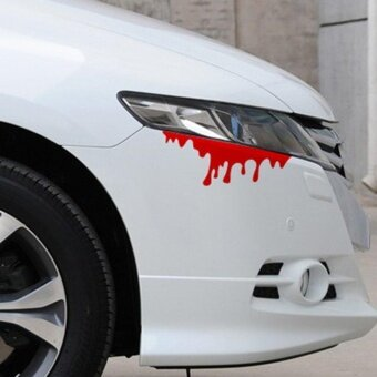Allwin New Style Decal Car Lamp Eyebrow Posted Light BrowReflective Blood  Sticker