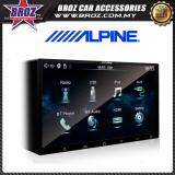 "Broz Alpine iXE-W400E Digital Media Station 7"" Glass Capacitive Touch Screen Bluetooth USB Double Din DVD Player"