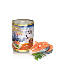 ALPS NATURAL CANNED SALMON 400G (24CANS)