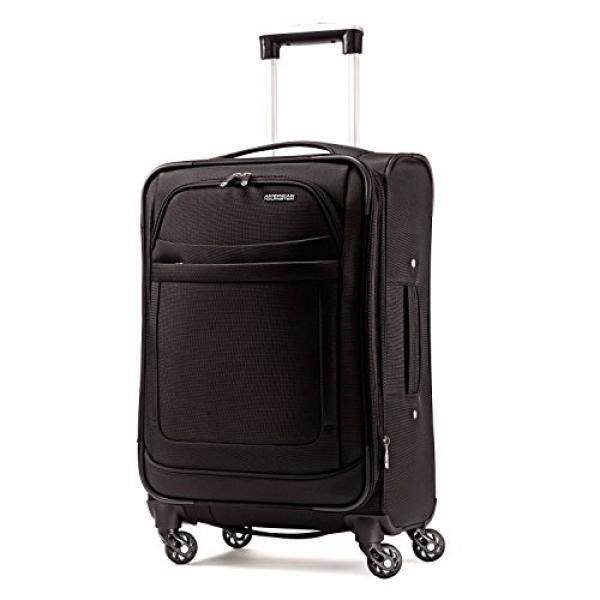 American Tourister Ilite Max Softside Spinner 21, Black - intl