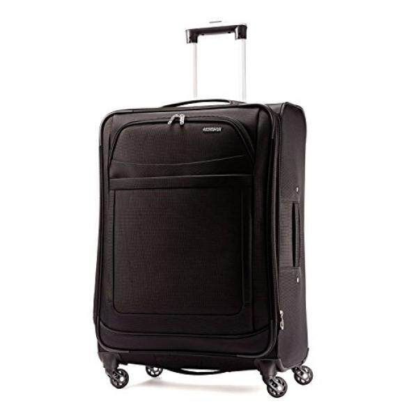 American Tourister Ilite Max Softside Spinner 25, Black - intl