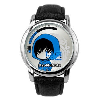 Anime LED Touching Screen Waterproof 100M Boys' Fashion Watches(Color:Daomu Note)
