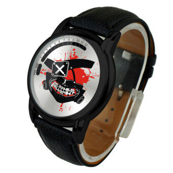 Anime LED Touching Screen Waterproof 100M Boys' Fashion Watches(Color:Ghoul Jin Muyan)
