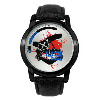 Anime LED Touching Screen Waterproof 100M Boys' Fashion Watches(Color:Ghoul Mask)