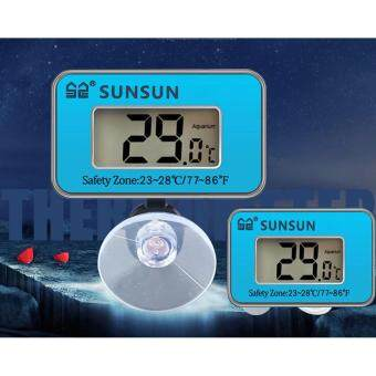 Harga Aquarium SUNSUN Submersible Digital LCD Aquarium Thermometer ForFish Tank Water