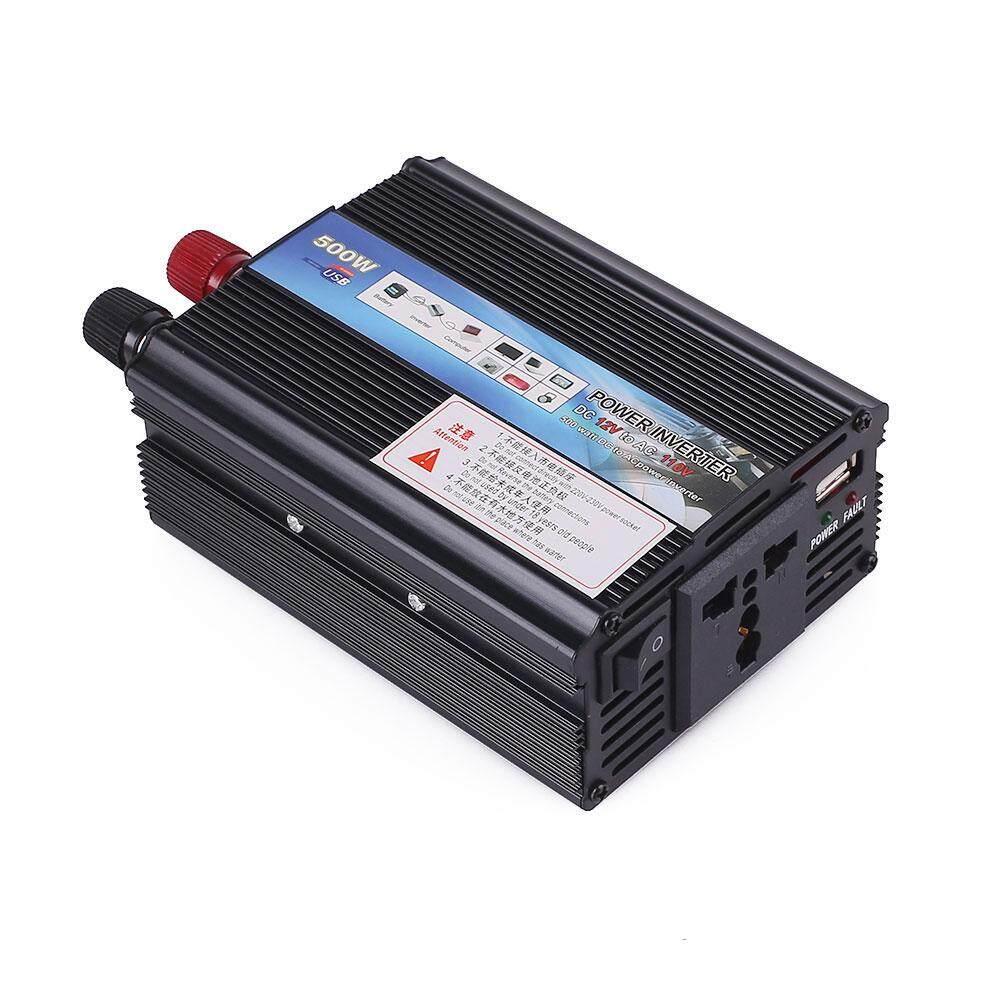 Rp 418000 Arctic Land 500w Car Power Inverter Adapter Converter Kit DC To AC 12V 24V