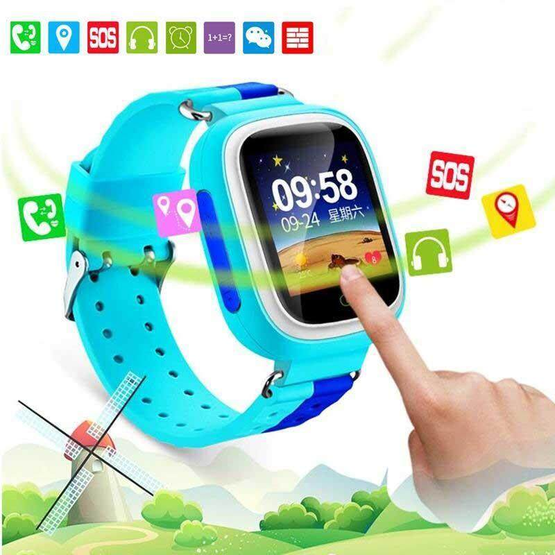 Arctic Land Q80 Smart Watches Phone Call Network Positioning Alarm Clock For Android iOS Malaysia