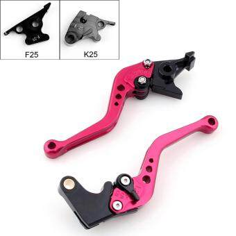 Harga Areyourshop Short Brake Clutch Levers For Kawasaki NINJA 300R(13-15) NINJA 250R (08-12) Red