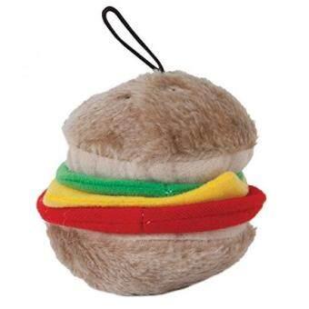 Aspen Pet Products Bite Hamburger Soft Toy, Medium - intl