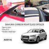 Broz Audi A1 Samurai Carbon Rear Top Windscreen OEM Glass Spoiler (3.5cm)